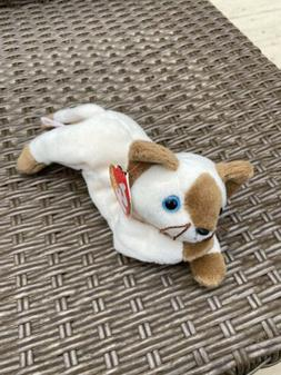 Ty Beanie Baby Snip The Cat PVC Pellets Excellent Condition