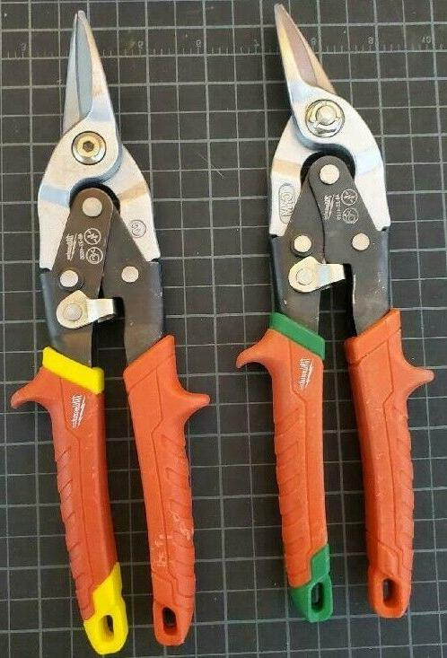 10 in straight cut aviation snips