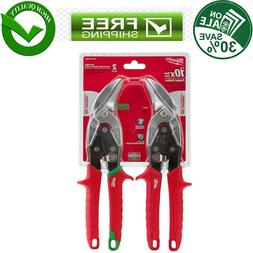 Left And Right Offset Aviation Snip Up To 22-Gauge Stainless