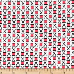Snips and Spools Cotton Fabric Michael Miller Watermelon  By